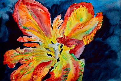 Fireworks Original by Beverley Harper Tinsley