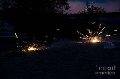Fireworks  Print by Cassie Marie Photography