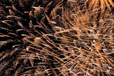 Fireworks Original by Claude Charbonneau