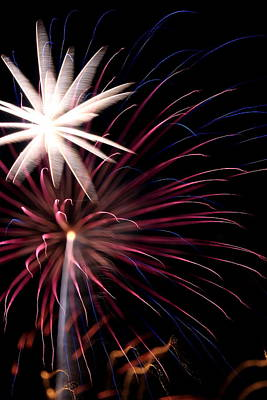 Photograph - Fireworks by David Dufresne