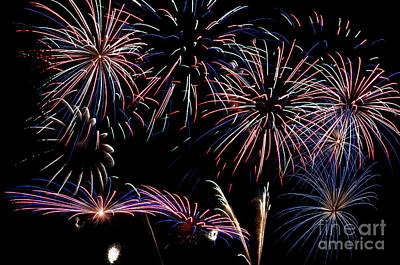 Spot Of Tea Rights Managed Images - Fireworks Extravaganza 2 Royalty-Free Image by Steve Purnell