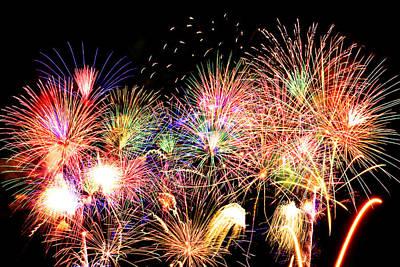 Fireworks Finale Art Print