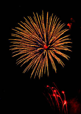 Photograph - Fireworks by Greg Norrell