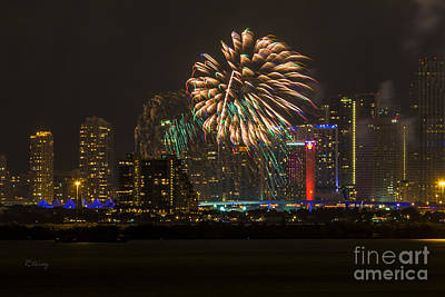 Photograph - Fireworks IIi by Rene Triay Photography