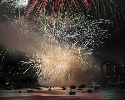 Fireworks In Englishbay 1 Art Print
