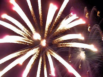 Photograph - Fireworks by Janice Drew