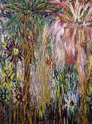 Fireworks Art Print by Joe Billera