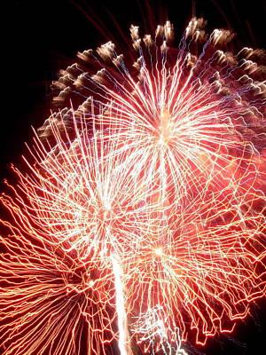 Fireworks Art Print by Joseph Norniella
