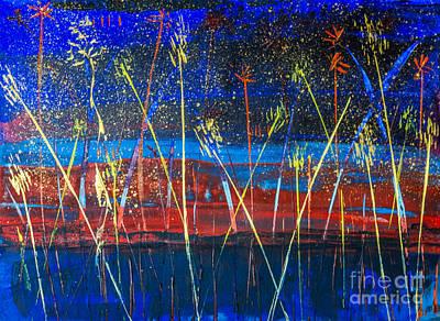 Photograph - Fireworks by Ken Frischkorn