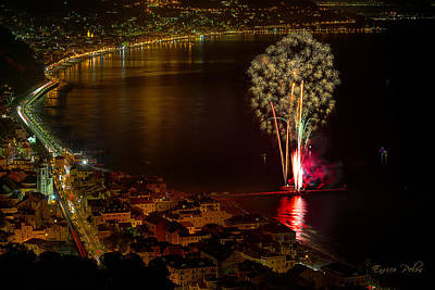 Photograph - Fireworks Laigueglia 2013 3178 - Ph Enrico Pelos by Enrico Pelos