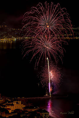 Photograph - Fireworks Laigueglia 2013 3194 - Ph Enrico Pelos by Enrico Pelos