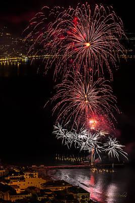 Photograph - Fireworks Laigueglia 2013 3196 - Ph Enrico Pelos by Enrico Pelos