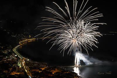 Photograph - Fireworks Laigueglia 2013 3206 - Ph Enrico Pelos by Enrico Pelos