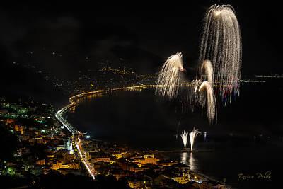 Photograph - Fireworks Laigueglia 2013 3213 - Ph Enrico Pelos by Enrico Pelos