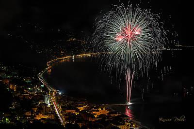 Photograph - Fireworks Laigueglia 2013 3217 - Ph Enrico Pelos by Enrico Pelos