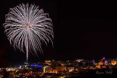 Photograph - Fireworks Loano 2013 3394 - Ph Enrico Pelos by Enrico Pelos