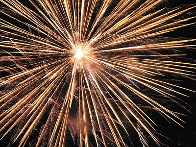 Photograph - Fireworks by Mark C Ettinger