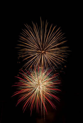 Photograph - Fireworks by Michael McGowan