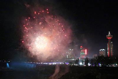 Photograph - Fireworks by Munir Alawi