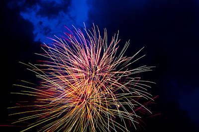 Fireworks On The Fourth Original by Frank Savarese