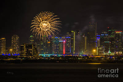 Photograph - Fireworks by Rene Triay Photography