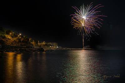 Photograph - Fireworks San Lorenzo Al Mare 2013 1948 - Ph Enrico Pelos by Enrico Pelos
