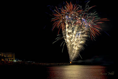 Photograph - Fireworks San Lorenzo Al Mare 2013 1981 - Ph Enrico Pelos by Enrico Pelos