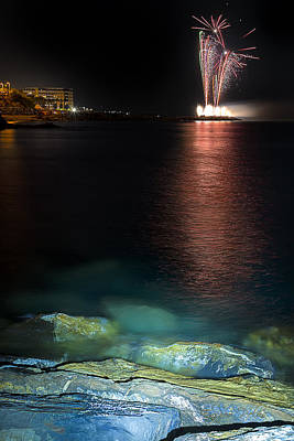 Photograph - Fireworks San Lorenzo Al Mare 2013 1994 - Ph Enrico Pelos by Enrico Pelos