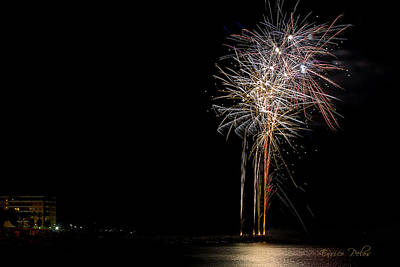 Photograph - Fireworks San Lorenzo Al Mare 2013 1996 - Ph Enrico Pelos by Enrico Pelos