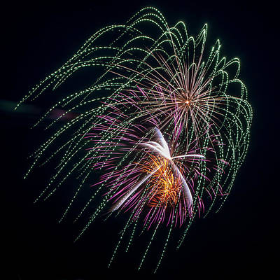 Photograph - Fireworks Veil by Bill Pevlor