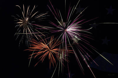 Photograph - Fireworks With Pride by Christina Rollo