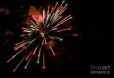 Photograph - Fireworks2 by Cheryl Baxter