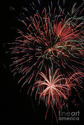 Fireworks6525 Art Print by Gary Gingrich Galleries