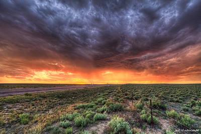 Photograph - Firey by Jeff Niederstadt