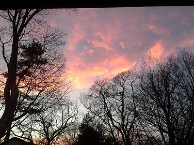 Photograph - Firey Sunset by Brenda Chapman