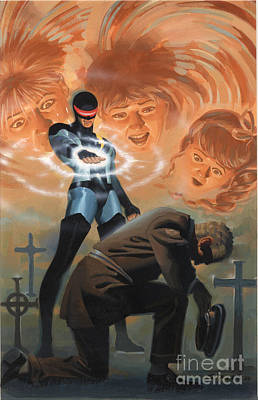 Gravesite Painting - First 25 by Steve Rude