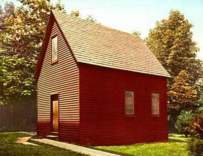 First Church Salem Massachusetts Art Print