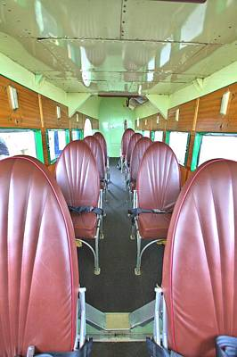 Photograph - First Class Seating by Gordon Elwell