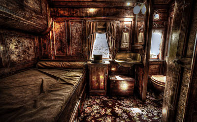 Photograph - First Class Sleeper by David Morefield