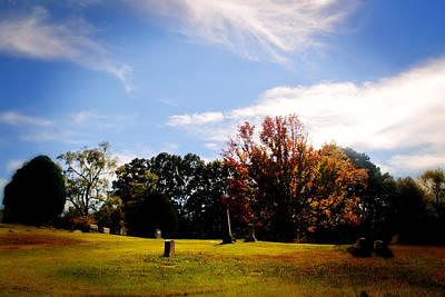 Photograph - First Color Of Fall by George Taylor