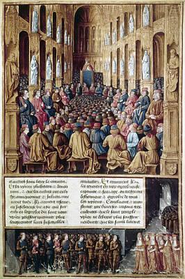 Crusade Painting - First Crusade, 1095 by Granger