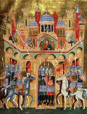 Crusade Painting - First Crusade, 1099 by Granger