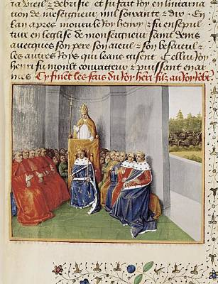 First Crusade. Council Of Clermont Art Print by Everett