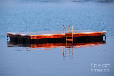 Swim Ladder Photograph - First Day Of School by Joe Geraci