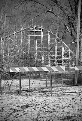 Rollercoaster Photograph - First Drop by Fred Lassmann