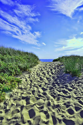 Photograph - First Encounter Beach Eastham by Allen Beatty