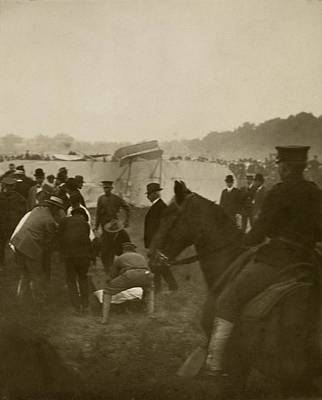 Selfridge Photograph - First Fatal Air Crash, 1908 by Science Photo Library