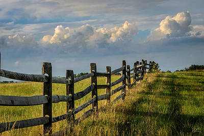Photograph - First Fence by Pat Scanlon