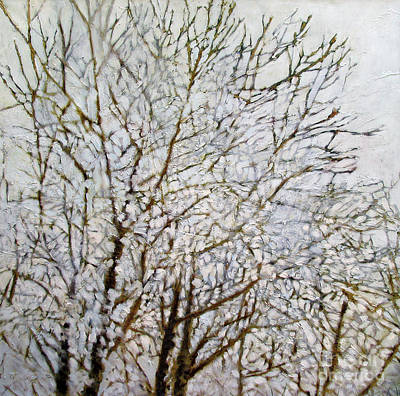Dave Hancock Painting - First Frost by Dave Hancock