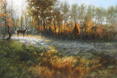 Oil Paining Painting - First Frost by David Henderson